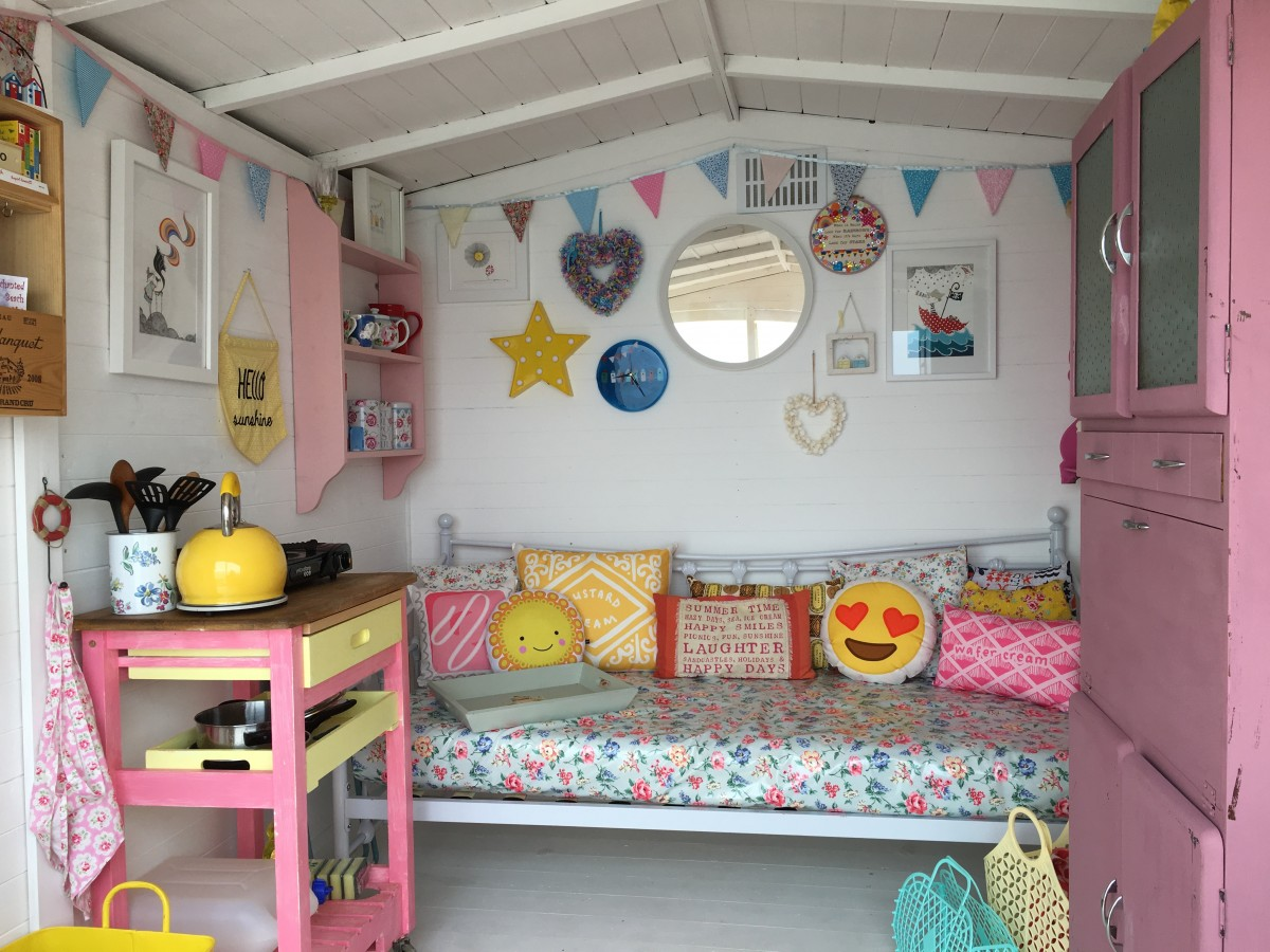 beach hut decor ideas how i created harley millie 39 s