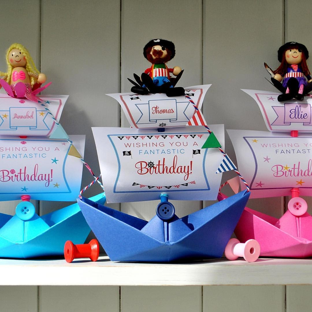 The Little Boathouse Birthday Boats