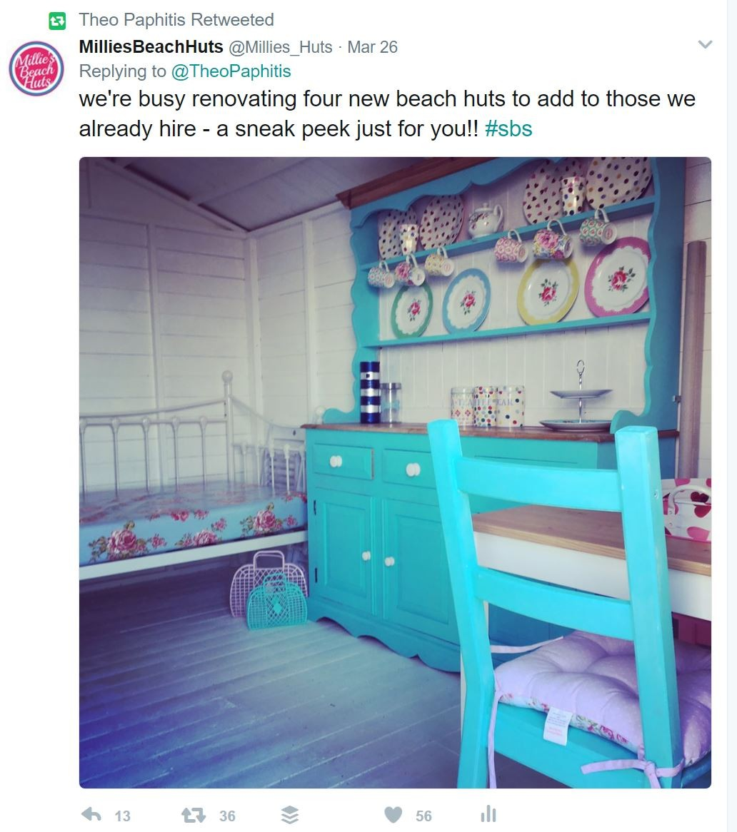 Small Business Sunday Winner Millie's Beach Huts