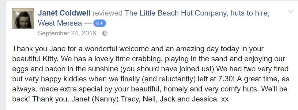 the little beach hut company review