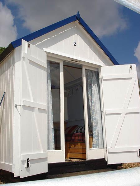 2 Brackenbury Fort Beach Hut Hire Felixstowe