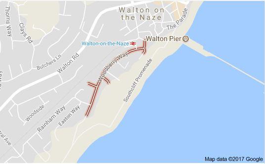 Walton-on-the-Naze Beach Hut Hire Car Parking