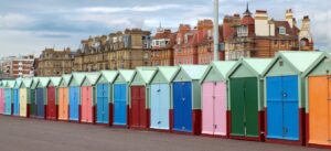 Why are beach huts expensive to buy?