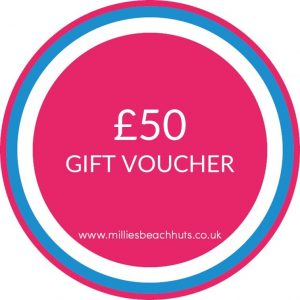 £50 Gift Voucher Beach Hut Hire