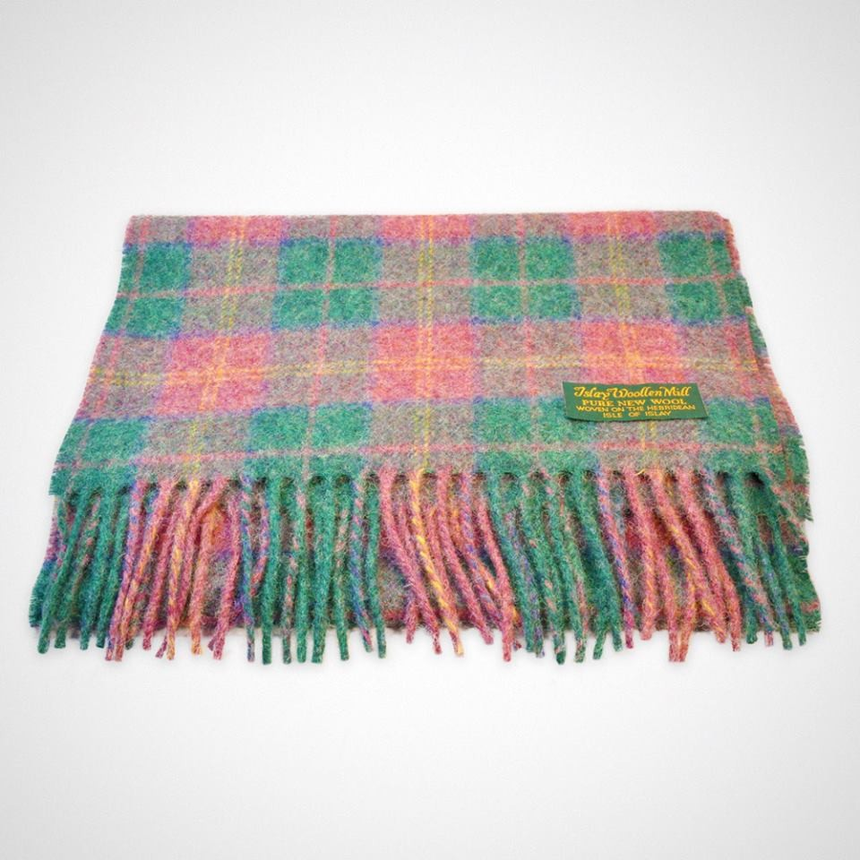 Beach Hut Decor Islay Tartan Throw