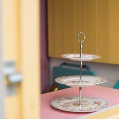 Millie's Beach Hut Club Beach Hut Hire Cath Kidston Cake Stand