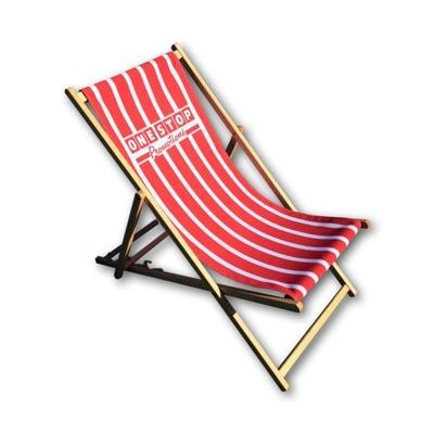 Gifts for a Beach Hut Fan - Personalised Deckchair