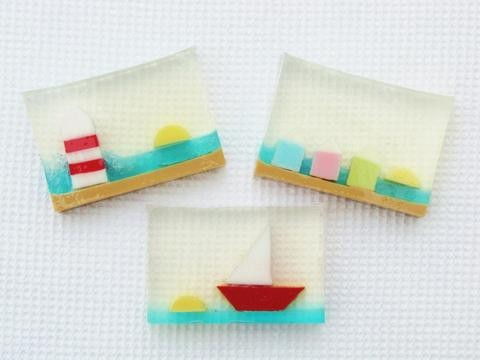 Gifts for a Beach Hut Fan - Seaside Soap English Handmade Soap