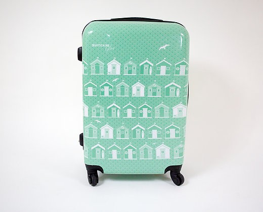 Gifts for a Beach Hut Fan - life's a beach suitcase