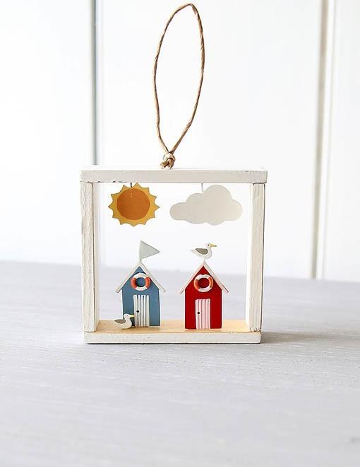 Gifts for a Beach Hut Fan - framed beach hut