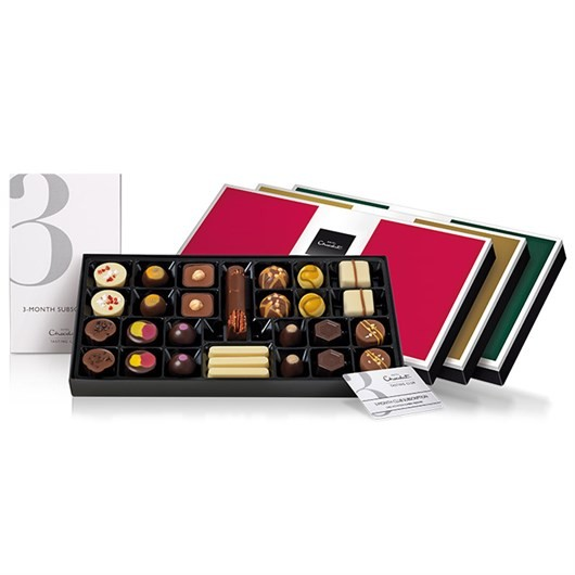 best subscription gifts chocolate Hotel Choolat christmas
