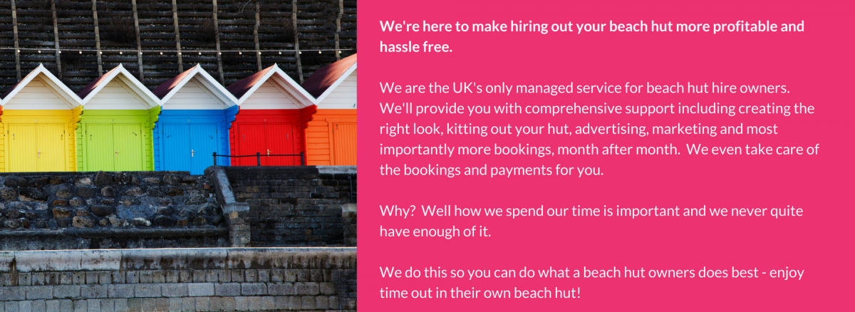 Beach Hut Hire Management
