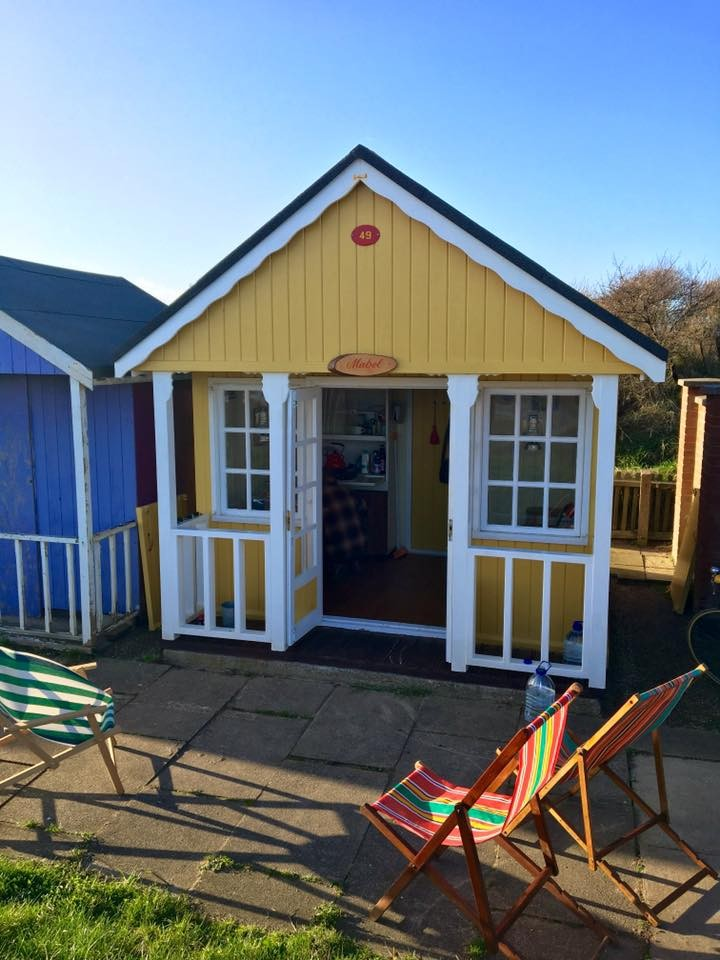 How to choose a beach hut name? Mable owned by Katy at Lincolnshire
