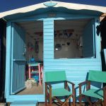 Sunnysands Front Row Beach Hut Hire in Walton-on-the-Naze Essex