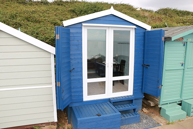 Beach Hut Hire Walton on the Naze The Glasshouse Millie's Beach Huts