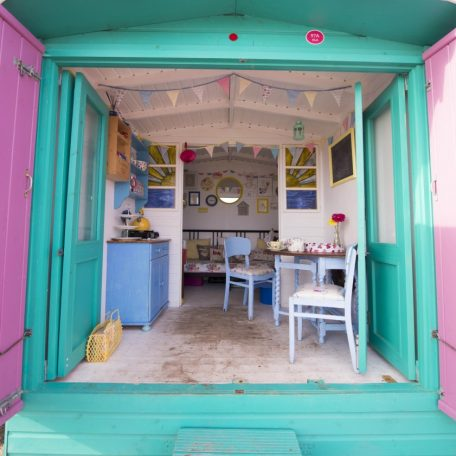 Millie's Beach Huts Harley Beach Hut for Hire Essex Walton-on-the-Naze