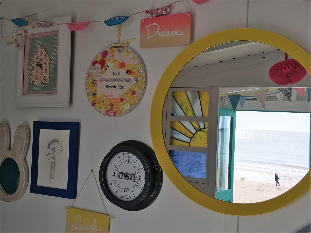 meet our suppliers ClimeMET millies beach huts isla happy wall