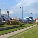 front row beach hut hire in Felixstowe Suffolk - Abbie