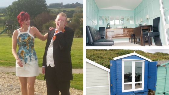 Beach Hut Hire Owners - Julie The Glasshouse Walton on the Naze Essex