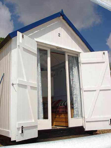 2 Brackenbury Fort Beach Hut Hire Felixstowe