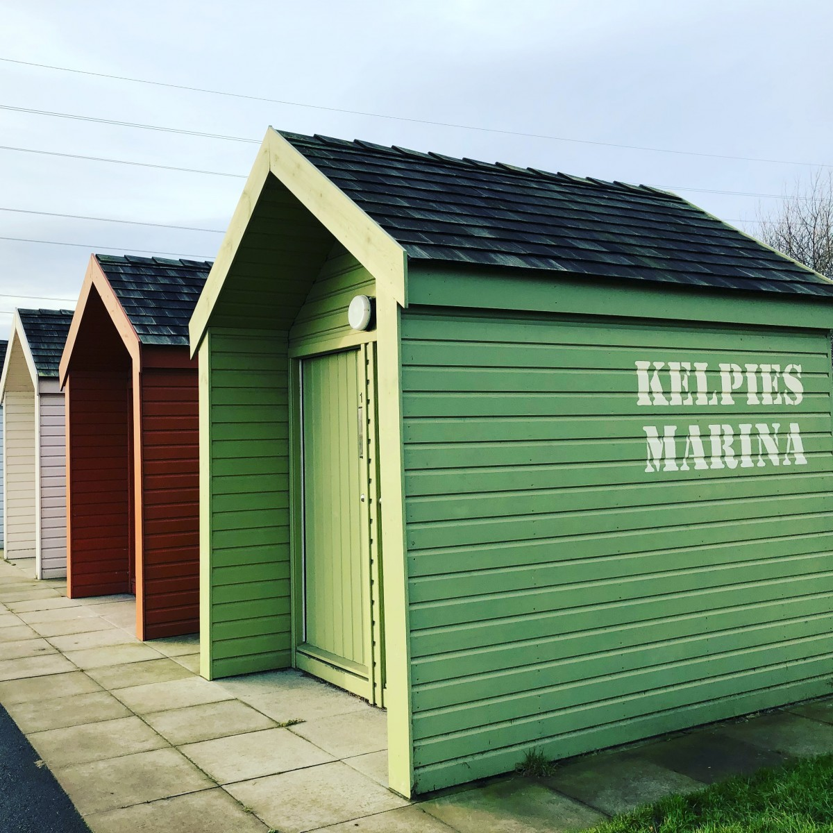 Beach Hut Life - The Kelpies Marina Beach Huts