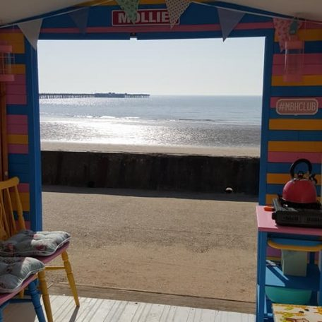 Mollie Front Row Beach Hut Hire Walton on the Naze Essex